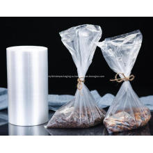 Прозрачный пластиковый пакет для упаковки пищевых продуктов