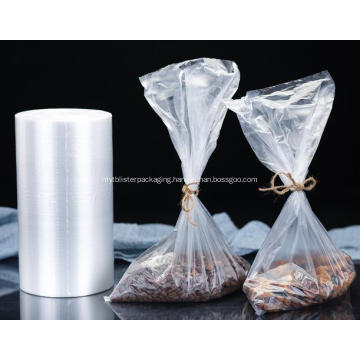 Clear Plastic Roll Bag for Food Packaging
