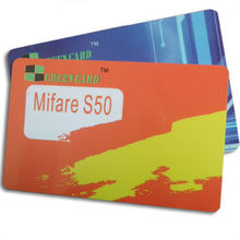 Smart Cards with FM1108 Chip and 13.56MHz Frequency, Measures 85.6 x 54mm