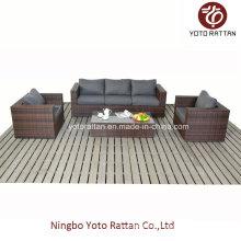 Rattan Drei-Sitzer Sofa (1206)