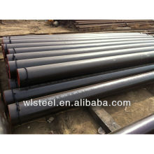 Astm a53 a106 espiral tubo de acero soldado para la entrega de líquido de baja presión