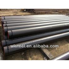 Astm a53 a106 tuyau en acier soudé en spirale pour livraison liquide à basse pression