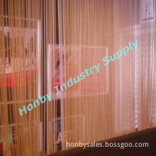 Gold Color 6mm Beaded Size Home Decor Metal Curtain Strings