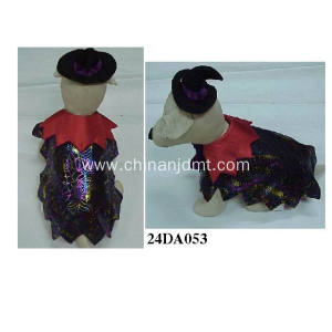 Halloween pet dog clothes