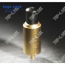 Pin de Pogo de cobre amarillo con el diámetro Impresiones