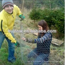 Гексагональной Подпорной Стенки Проволочной Сетки И Куриные Сетки Рыболовная Сеть