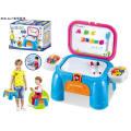 Juguetes de silla de almacenamiento de bloque para niños