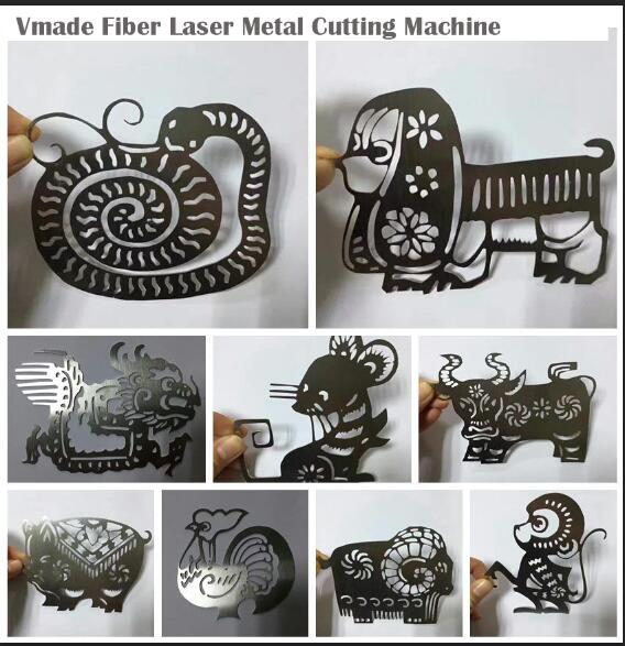 Fiber Laser Cutting Machine Sample