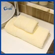 100% хлопок крем цвет Hotel полотенце (QHH5598)