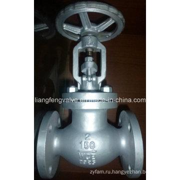 Фланцевый клапан API ANSI с углеродистой сталью