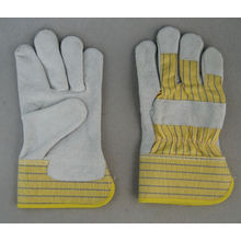 Корова сплит-кожа Полная перчатка для рук Palm Leahter-3056.11