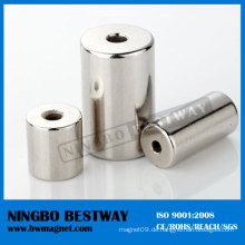 N28uh starke Ring Neodym Magnet Tube