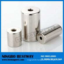 N28uh Strong Ring Neodymium Magnet Tube