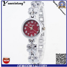 Yxl-410 New Fashion Ladies Quartz Alloy Bracelet Watch Quartz Elegant Wrist Watch Women