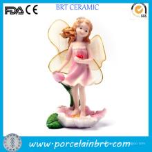 Fada voadora com decoração de jardim de resina atraente