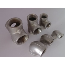 Raccords filetés Raccords de tuyaux en acier inoxydable (304 316L)
