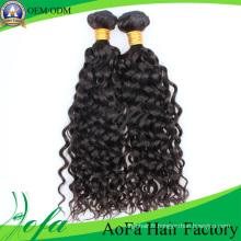 Trame de cheveux humains Remy de cheveux vierges brésiliens non transformés de 100%