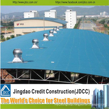 Structure Steel Workshop with Color Steel Sheeting