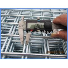 6mm dia reforçar construção galvanização após soldagem folha de malha de arame