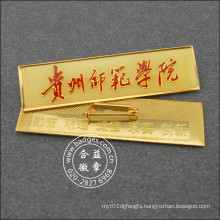 College Badge, Double Sides with Words School Card (GZHY-LP-032)