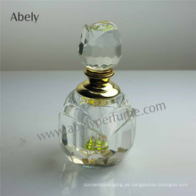 Botella de aceite cristalina elegante de 3 ml