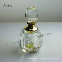 3 Ml élégante bouteille d'huile de cristal