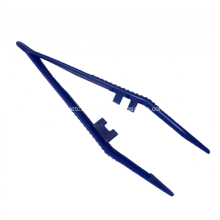 12.5cm Medical Disposable Plastic Forceps Tweezers