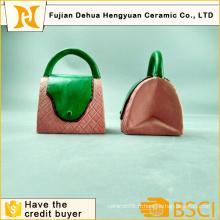Fashion Design Handbag Shape Coin Bank for Home Decoration