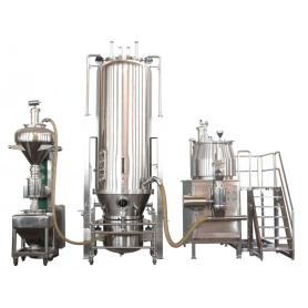 Solid Preparation Granulating Drying Bin Blender Series