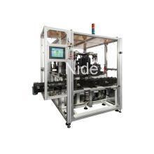 Máquina automática de balanceo de rotor de motor de inducido de generador con cinco estaciones