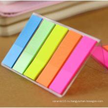 Pet Sticky Notes с флуоресцентным цветом, классификация Memo Pad
