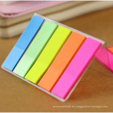 Notas adhesivas para mascotas con color fluorescente, Bloc de notas de clasificación