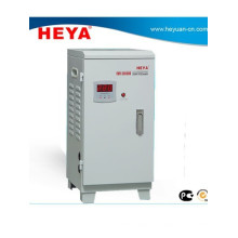 15Kva single phase Relay vertical type ac automatic voltage regulator with fan