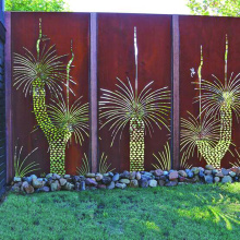 Laser Cut Fence Panels