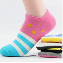 2016 New Design Femmes Invisible Loafer Low Cut Anklet Chaussettes