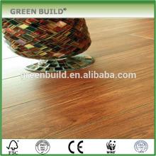 Revestimento de madeira projetado cor teca impermeável