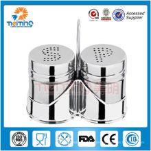 New China Produkte zu verkaufen3pcs Gewürzregal Gewürzset / Edelstahl Salz und Pfeffer Shaker