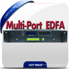 High Quality 2u Housing 8 Way Output Optical Amplifier EDFA