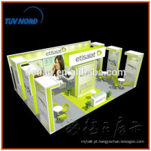 Rápido e fácil de montar cabine de comércio de alumínio de xangai