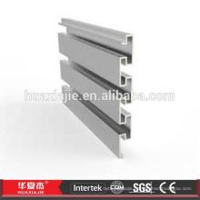 8*12 mdf board pvc plastic slatwall display rack