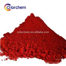 pigmento vermelho de óxido de ferro 120 fe2o3 para plástico
