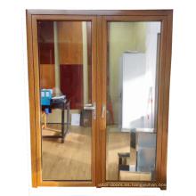 Tirador de aluminio de primera calidad para la puerta abatible de vidrio