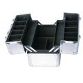 Boîte à outils légère Boîte de rangement pour mallette en aluminium Boîte à outils en aluminium