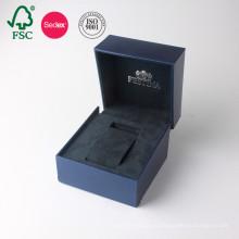 На заказ в Китае PU кожаный бумага подарок часы Коробка упаковки