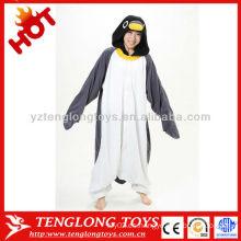 Fiesta de suministro de vacaciones Halloween niños adultos trajes de pingüino animal