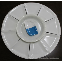 Conjunto de louça de imitação cerâmica branca melamina (CP-048)