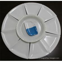 Белый имитация керамической, меламин Набор посуды (Ср-048)