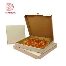 Nouveau design pas cher prix ferme coffre-fort pizza carton ondulé