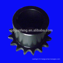 Customized precision steel chain wheel