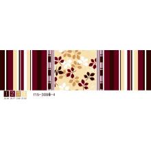 100% polyester différents types de tissu